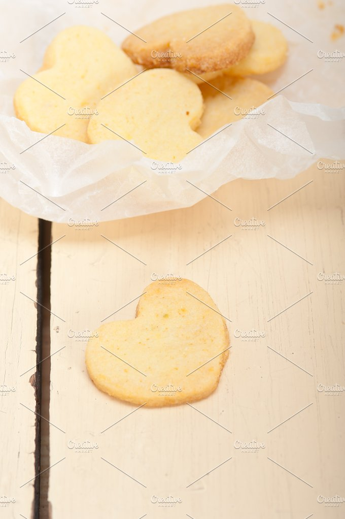 heart shaped shortbread cookies 017.jpg - Food & Drink