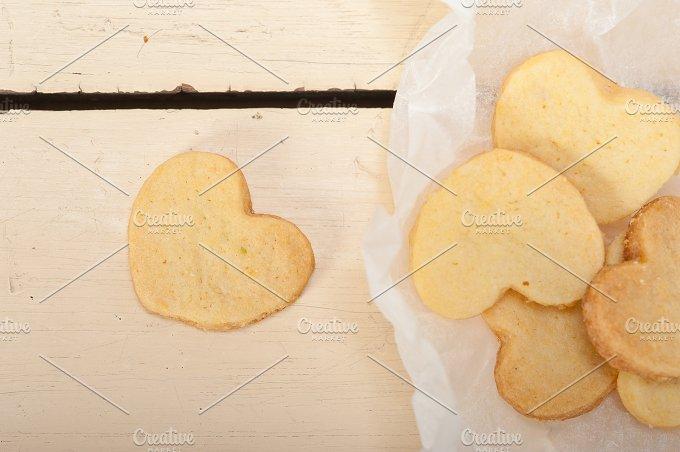 heart shaped shortbread cookies 019.jpg - Food & Drink