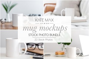 Mug Mockups Stock Photo Bundle