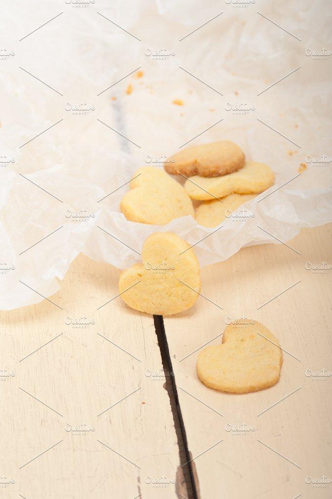 heart shaped shortbread cookies 025.jpg - Food & Drink