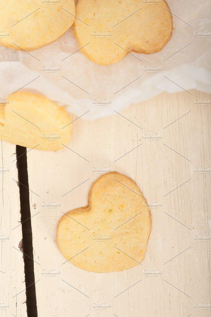 heart shaped shortbread cookies 027.jpg - Food & Drink