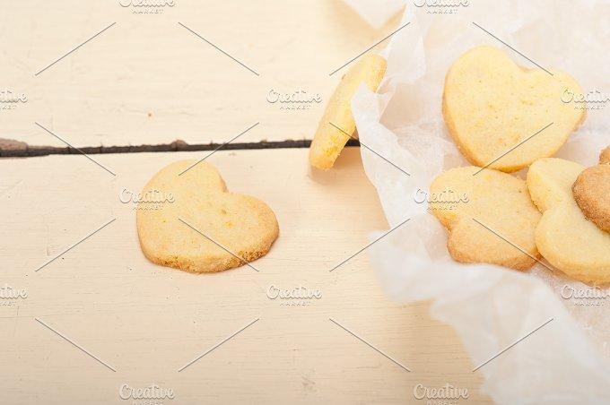 heart shaped shortbread cookies 029.jpg - Food & Drink