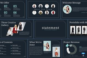 Statement - Keynote Template