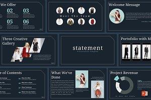 Statement - Powerpoint Template