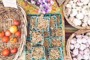 Farmer's Market Produce Table