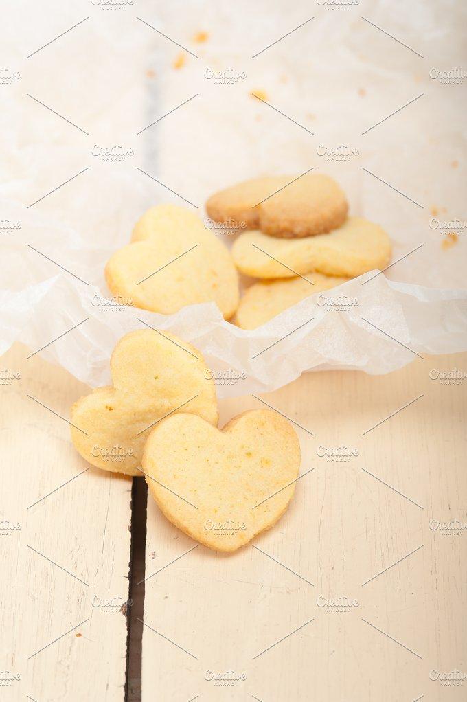 heart shaped shortbread cookies 031.jpg - Food & Drink