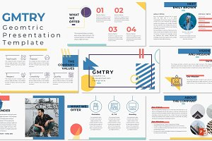 GMTRY - Powerpoint Template