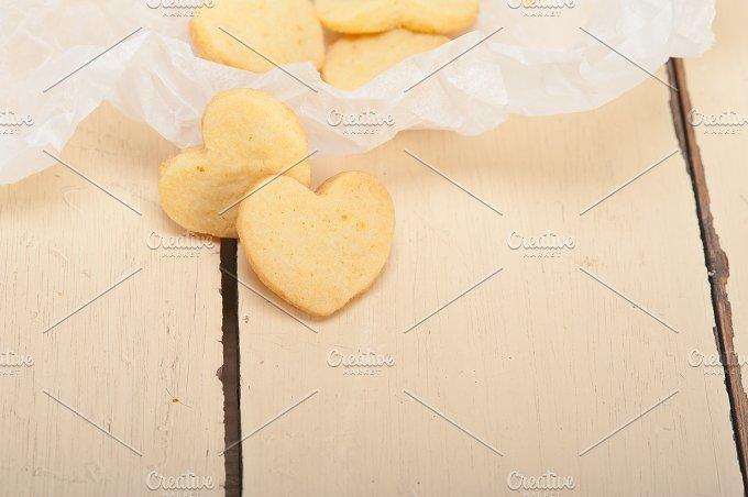 heart shaped shortbread cookies 034.jpg - Food & Drink