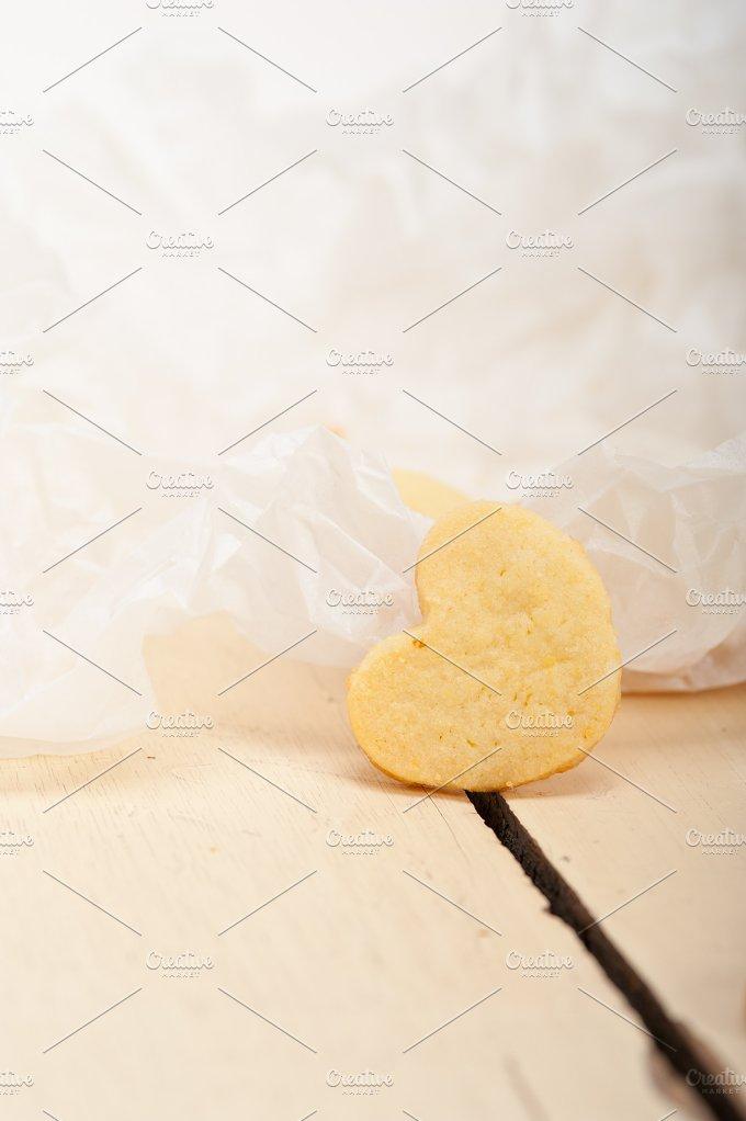 heart shaped shortbread cookies 036.jpg - Food & Drink