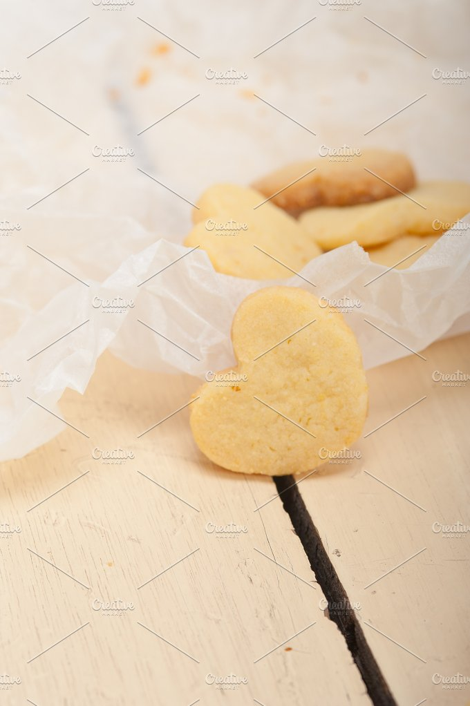 heart shaped shortbread cookies 037.jpg - Food & Drink