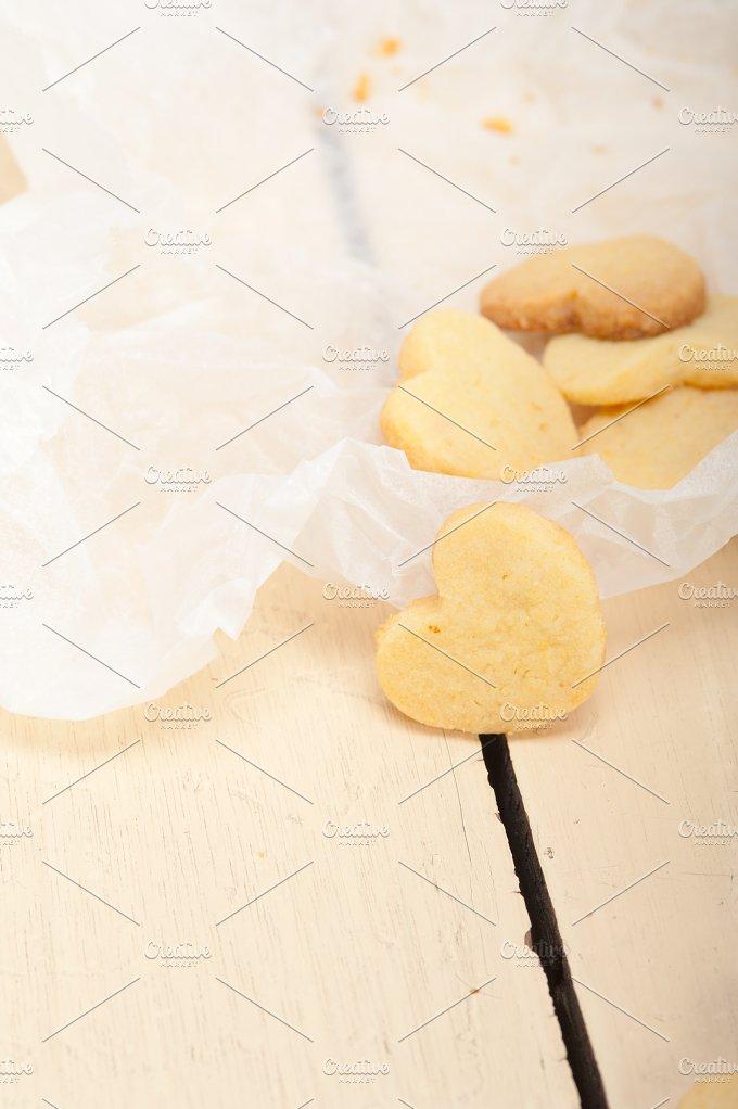 heart shaped shortbread cookies 038.jpg - Food & Drink