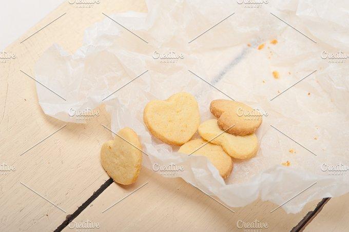heart shaped shortbread cookies 043.jpg - Food & Drink