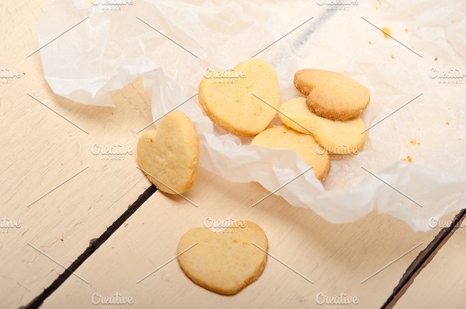 heart shaped shortbread cookies 044.jpg - Food & Drink