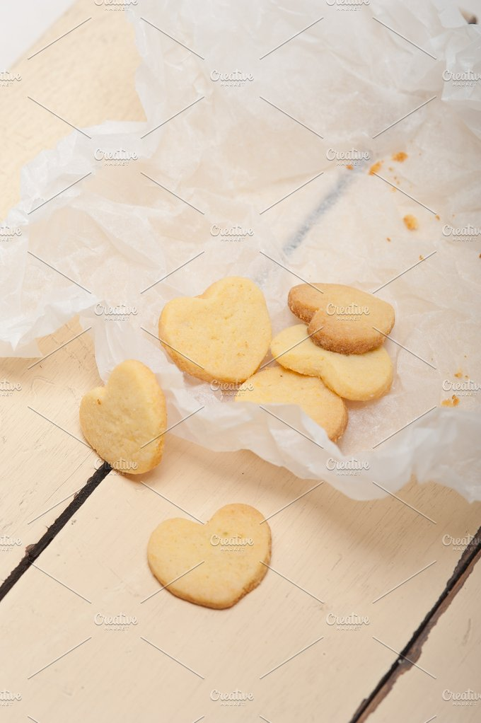 heart shaped shortbread cookies 046.jpg - Food & Drink