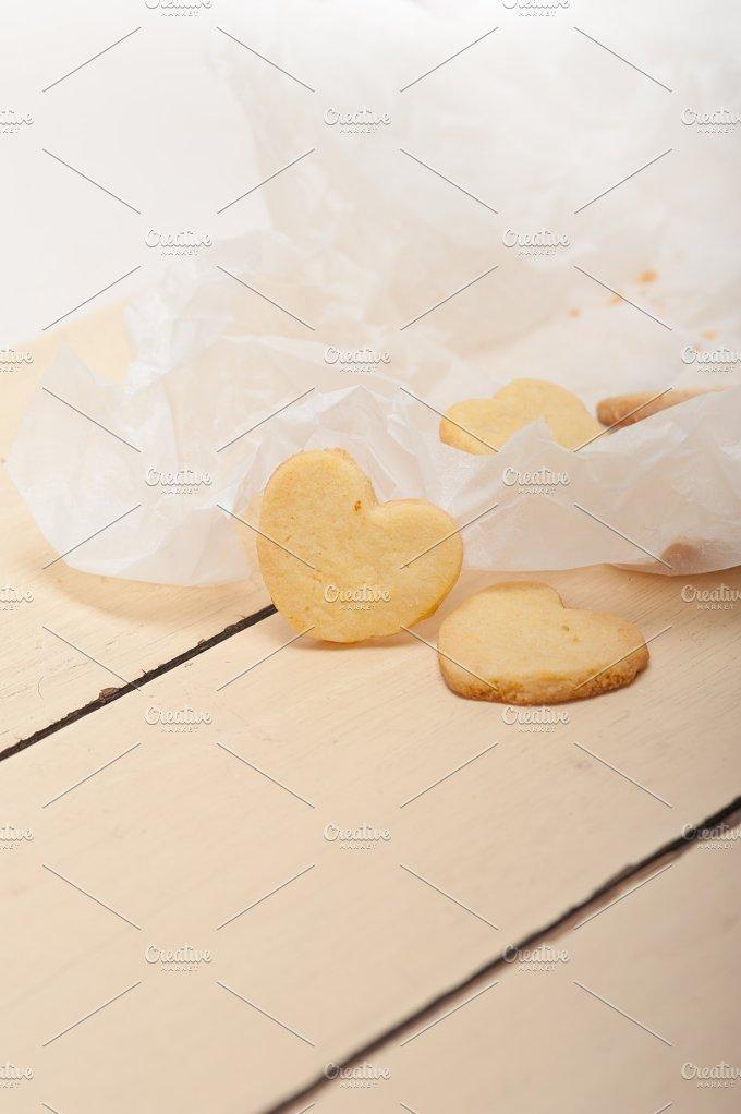 heart shaped shortbread cookies 051.jpg - Food & Drink