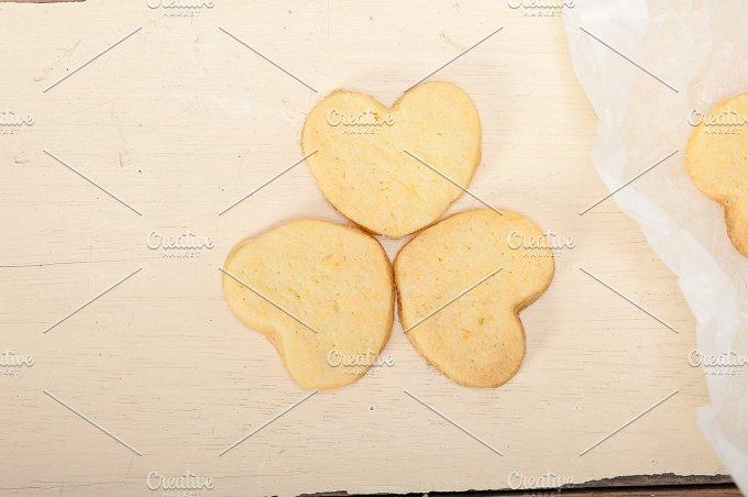 heart shaped shortbread cookies 053.jpg - Food & Drink