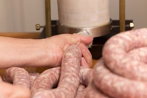making sausage at home