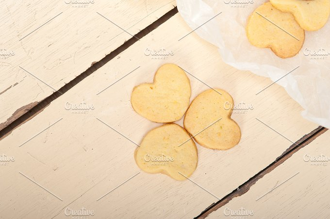 heart shaped shortbread cookies 055.jpg - Food & Drink
