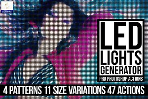 Led Lights Generator PS Actions