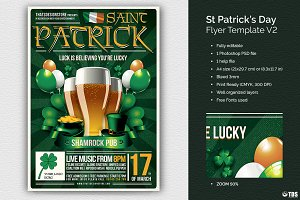 Saint Patricks Day Flyer Template V2