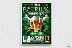 Saint Patricks Day Flyer Template V2
