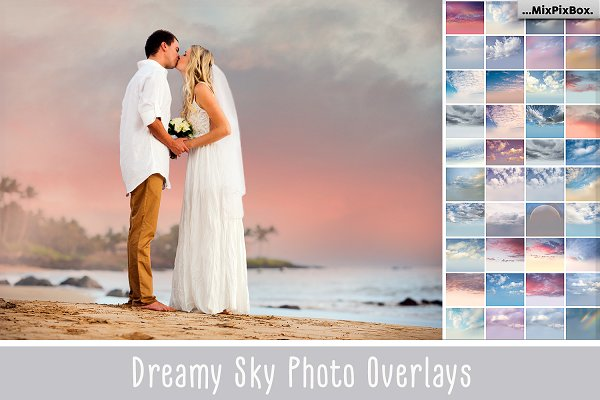 60 Dreamy Sky Photo Overlays