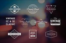 10 Retro Logos Vol. 2