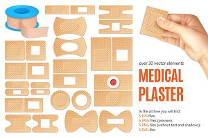 Medical Plaster Set