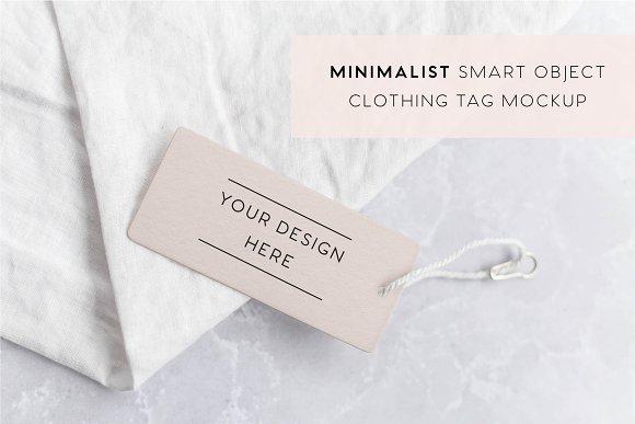 Download Minimalist Clothing Tag Mockup Free Download Psd Mockup