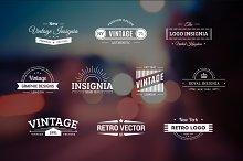 10 Retro Logos Vol. 4
