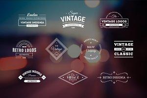 10 Retro Logos Vol. 6