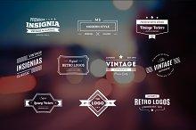 10 Retro Logos Vol. 7