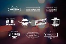 10 Retro Logos Vol. 8