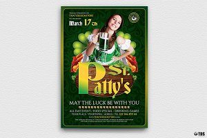 Saint Patricks Day Flyer Template V3