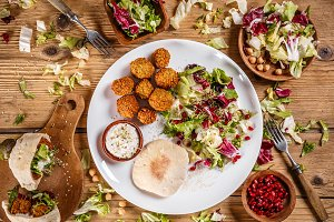 Falafel patties