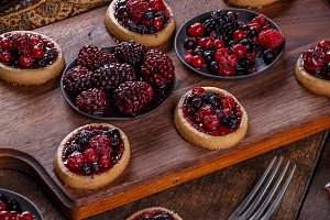 Mini party tartlets