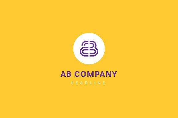 AB Company Logo
