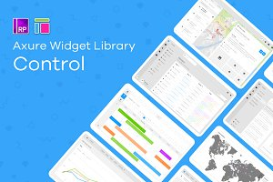Control / Axure widget library