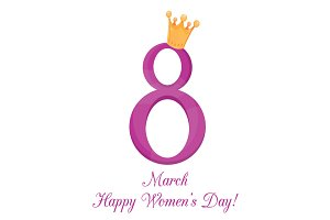 8 March, International Women's Day