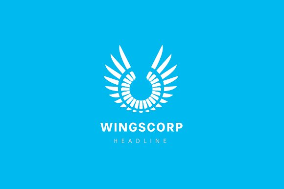 Wings corporation logo.
