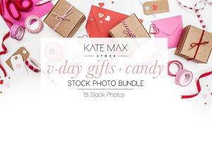 V-Day Gifts + Candy Photo Bundle