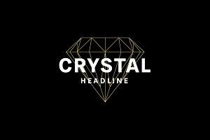 Crystal logo.