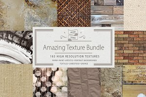 Artist Textures & Backgrounds Bundle