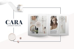 Cara Lookbook Template