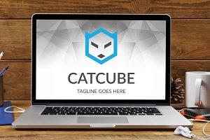 Cat Cube Logo