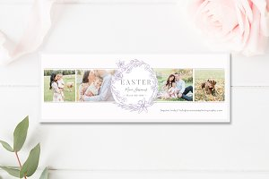 Easter Minis Facebook Template