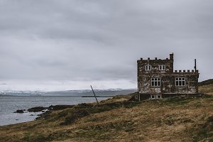 Old Castle like House by the Water