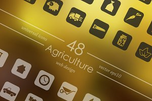 15 AGRICULTURE icons