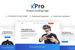 xPro - Product Landing Page