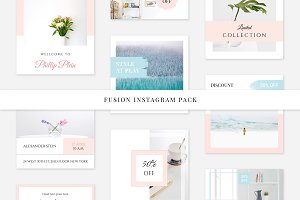 Fusion Instagram Pack
